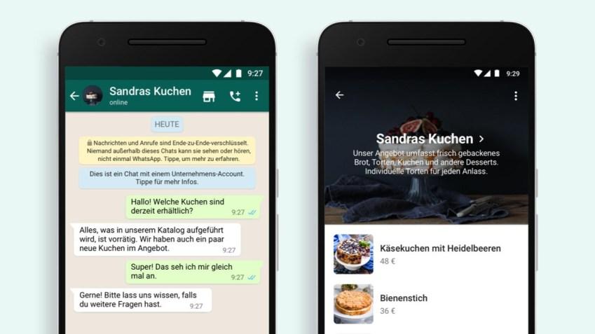WhatsApp Shopping-Button