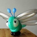 Libelle aus Ballons