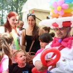 Ballonkünstler Markus Toni Vallen aus Erkelenz beim Regenbogenland 2014