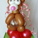 Ballon Birthday-Baer balloon birthday-bear