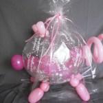 Glücksschwein aus Stufferballon