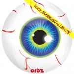 Folienballon Helloween-Eye