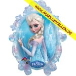 Folienballon Eiskönigin XXL