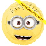 Folienballon Minion rund