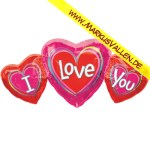 Folienballon I-Love You XXL