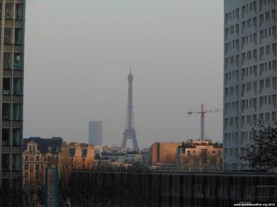 Eiffelturm von La Defense