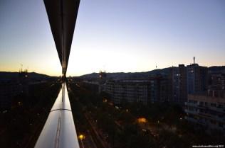 Barcelona im Sonnenuntergang