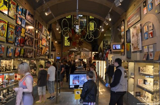Kunsthändler in Barcelona City