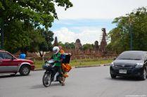 Ayutthaya Wat Phra Si Sanphet Mönch