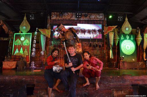 Ayutthaya Floating Market Show Markus