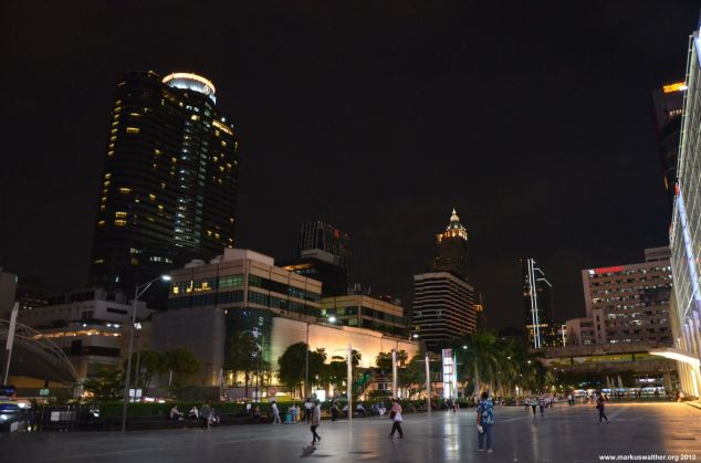 Bangkok Central World Skyline