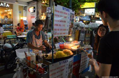 Bangkok Khaosan Road Händler