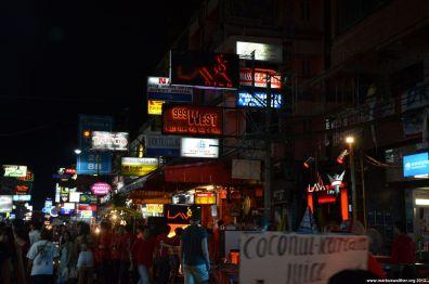 Bangkok Khaosan Road bei Nacht