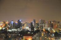Bangkok Skyline Aussicht Aloft Hotel
