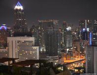 Bangkok Skyline Aloft Hotel