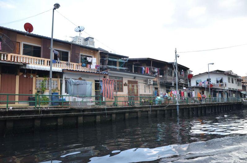 Bangkok Flussufer