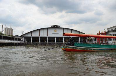 Bangkok Chao Phraya Königlicher Hafen