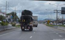 Thailand Unterwegs auf der Autobahn
