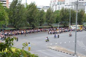 Bangkok Victory Monument Bushaltestelle