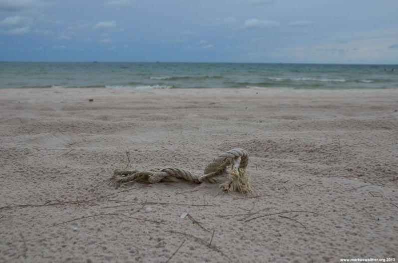 Hua Hin Seil im Sand