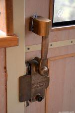 Türverschluss im Detail
