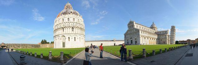 Panorama in Pisa