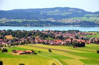 Blick auf Waltenhofen