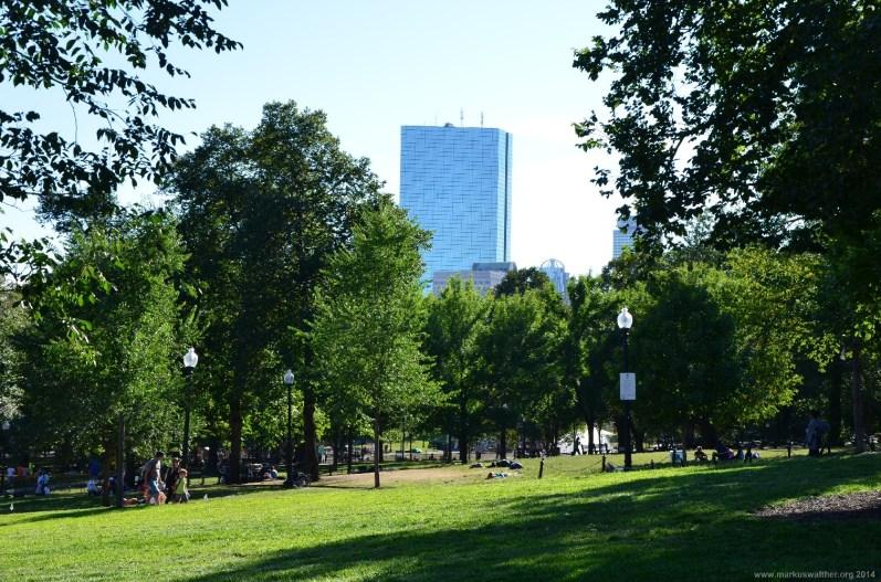 Boston Public Garden bei Tag