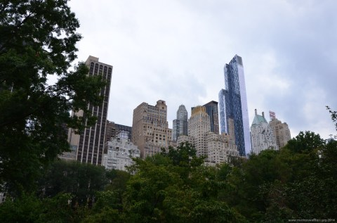 Upper Manhattan vom Central Park New York