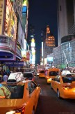 Taxen am Times Square New York