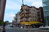 Straßenecke in Chinatown, New York