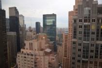 Zimmerausblick vom Sheraton New York Times Square Hotel, Etage 51