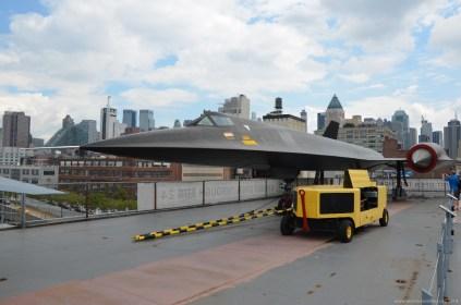 Blackbird auf der USS Intrepid im Intrepid Sea, Air & Space Museum, New York