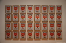 Andy Warhol's Campbell's Soup Cans im MoMa New York