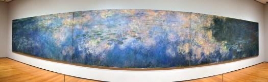 Panorama der Seerosen von Monet im MoMa New York