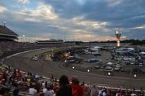 Kurz vor dem NASCAR Sprint Cup auf dem RIR