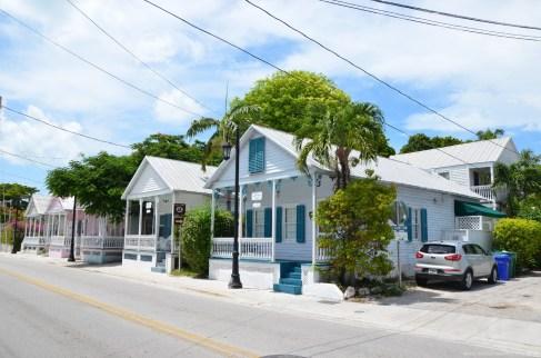 Wohnhäuser auf Key West