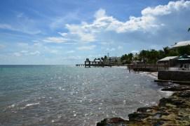 Blick über die Südseite von Key West