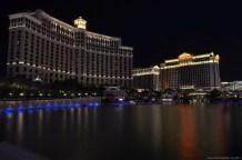 Bellagio und Caesars Palace, Las Vegas