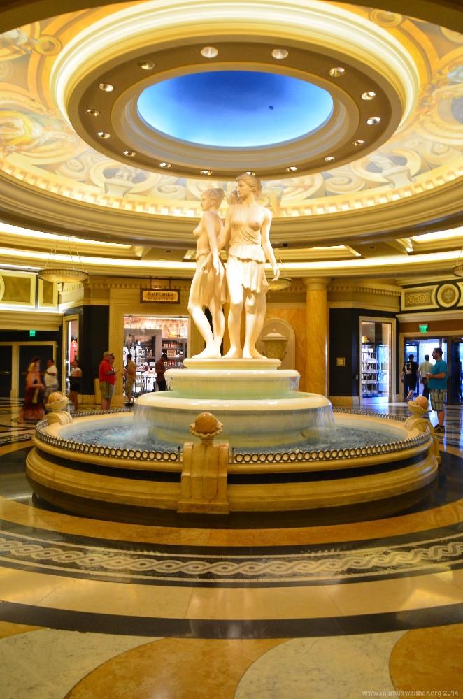 Brunnen im Eingangsbereich des Bellagio Las Vegas