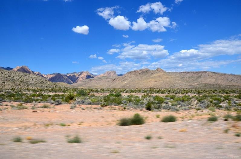 Felsen im Westen von Las Vegas