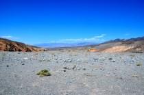 Der Weg in den Death Valley Kessel
