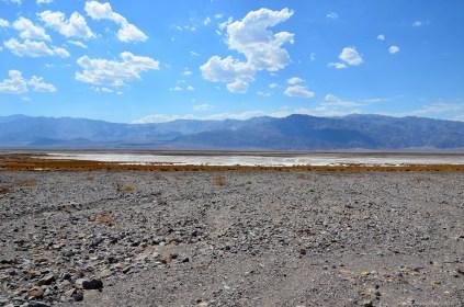 Salt Flats von Death Valley