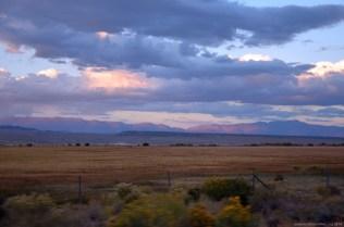 Blick auf Death Valley vom Owens Lake