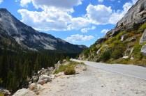 Der Weg durch den Yosemite Nationalpark