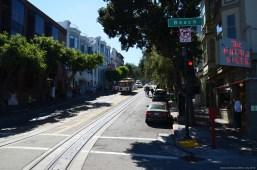 Beach/Hyde Cable Car Stopp