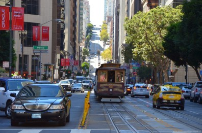 California Street in San Francisco