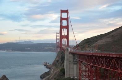 Golden Gate Bridge vom Vista Point Nord