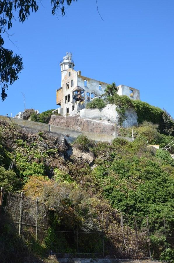 Warden's Residenz auf Alcatraz Island