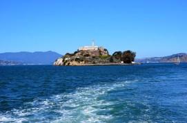 Abfahrt von Alcatraz Island